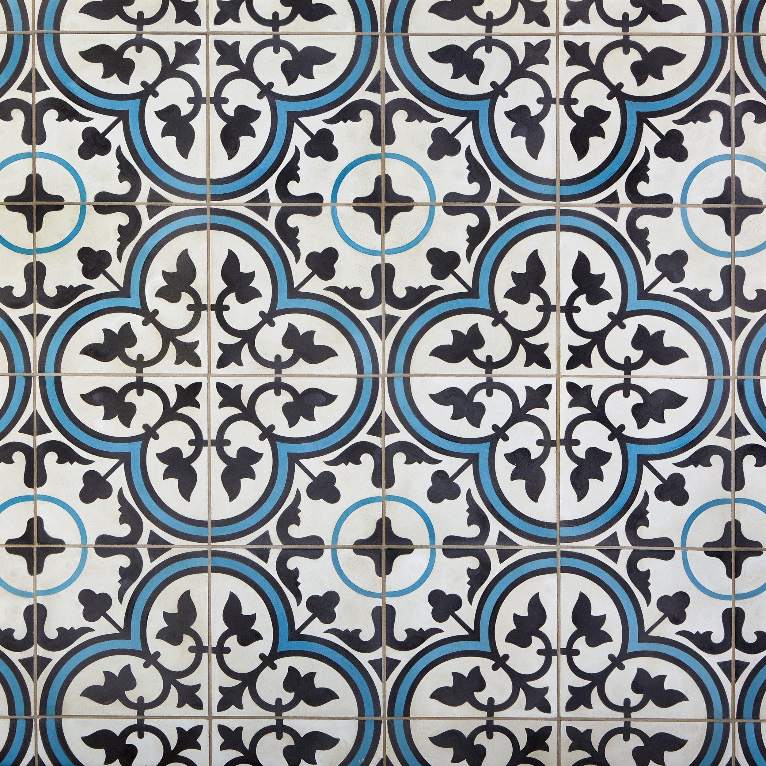Equilibrio Blue Encaustic Cement Tile | Products in 2019