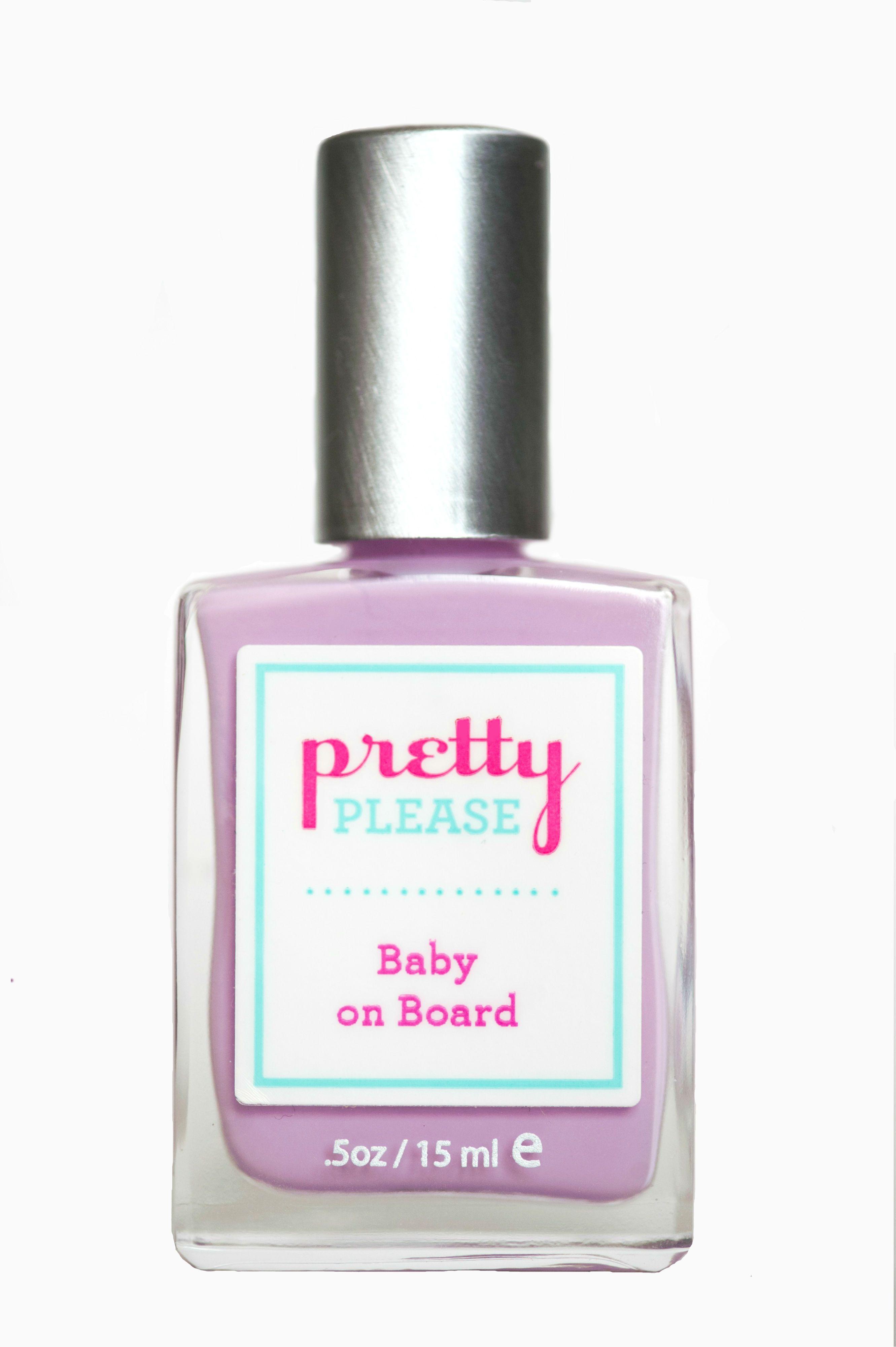 Baby on board prettypleasepolish nameyourpolish