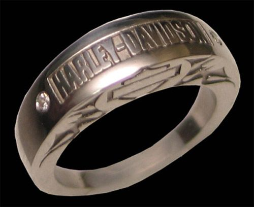 good harley davidson wedding rings with harley davidson wedding rings - Biker Wedding Rings