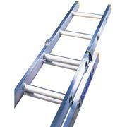 Lyte 10 Rung 4 88m Double Extension Aluminium Ladder Ladder Pvc Moulding Aluminium Ladder