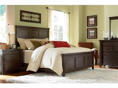 Shop For Broyhill Attic Retreat Queen Panel Bed 211088 And Other