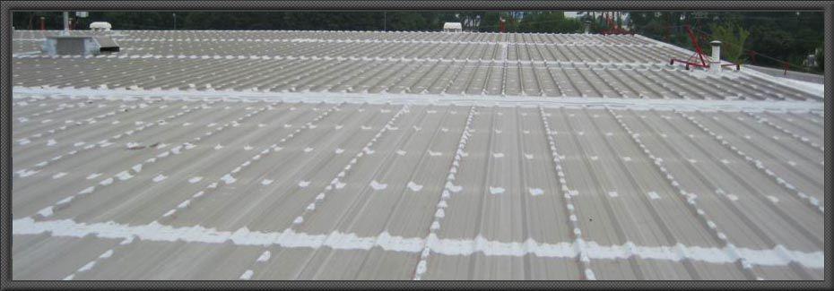 Metal Roof Painting With Images Metal Roof Leaks Roof Leak Repair Metal Roof