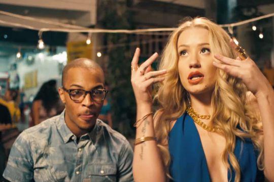T I No Mediocre Ft Iggy Azalea Video Lyrics Iggy Azalea Video Hip Hop Music Videos Iggy Azalea