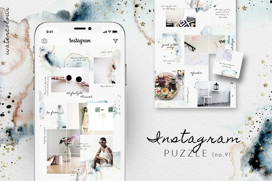 Ad: 81% OFF| BUNDLE v.2-Instagram Puzzl… by CreativeFolks on @creativemarket. A value of $208 if you purchase each product separately. Save 81% - get this Instagram Puzzle templates MEGA BUNDLE now for a super low #creativemarket