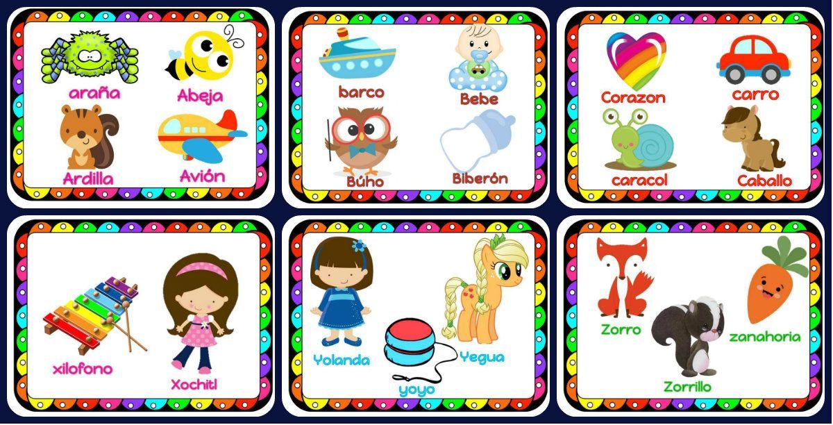 Imagenes Educativas Para Descargar: Precioso Abecedario En Fichas Listas Para Descargar