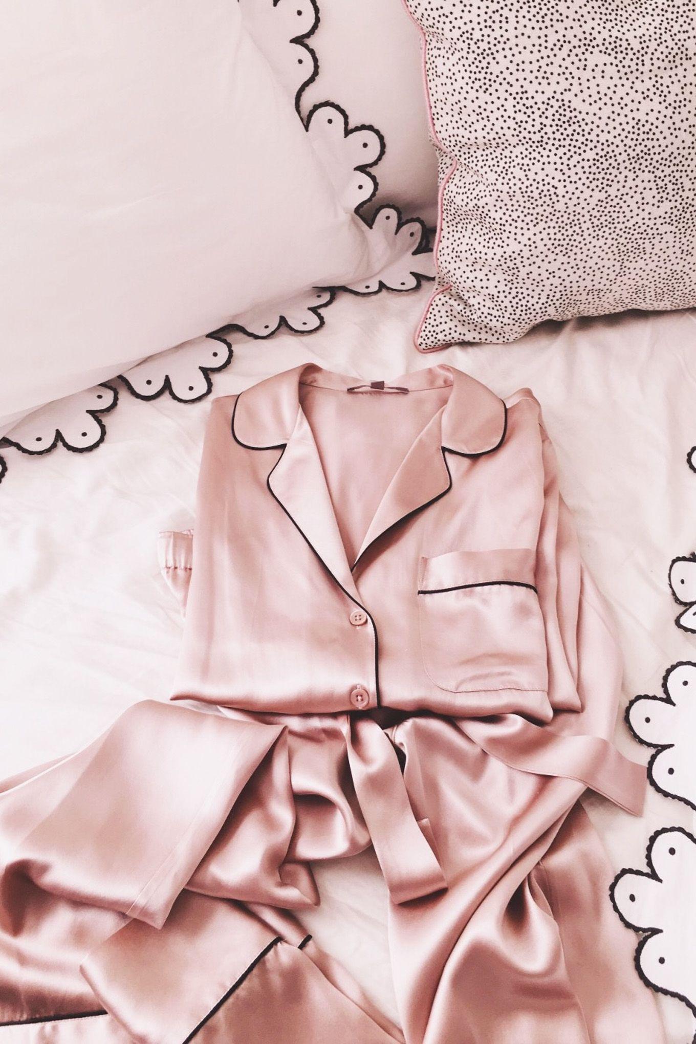 silk pajamas // GMG