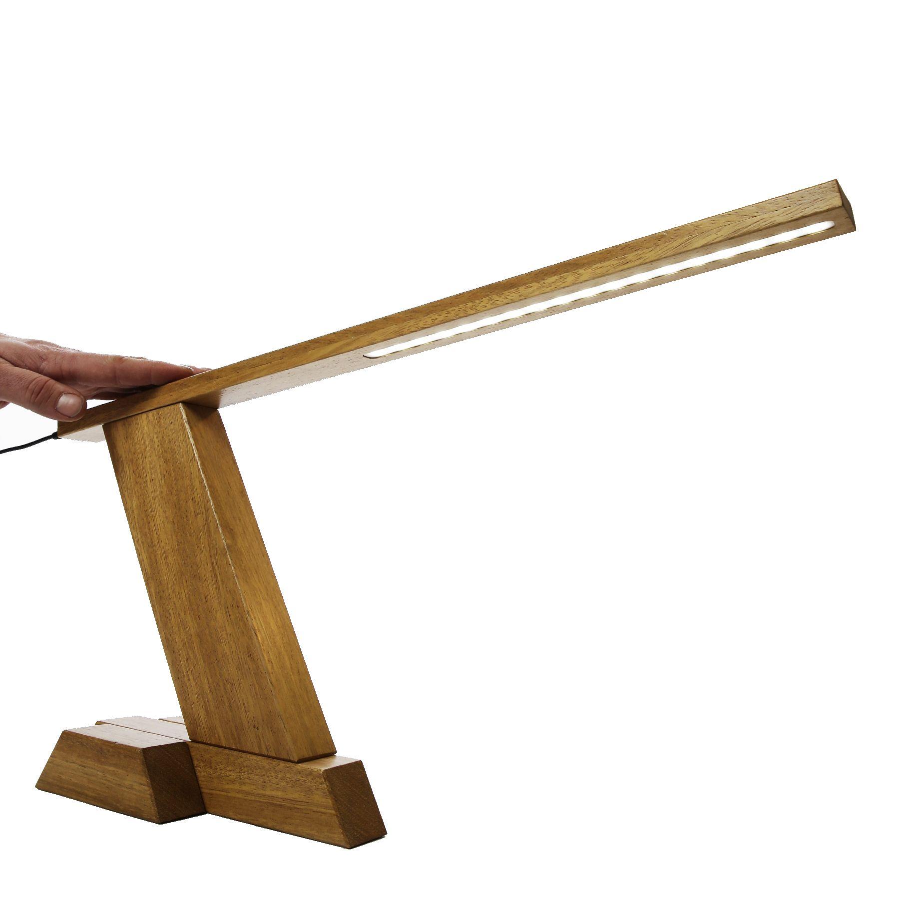 WOOleD Solid Wood DIY LED Desk Lamp Wood desk lamp