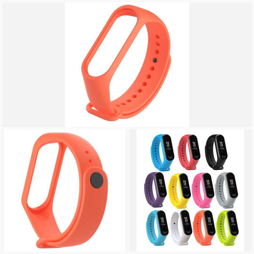 Mi Band 3 Fitness Smart Band Watch Straps Silicone Belt