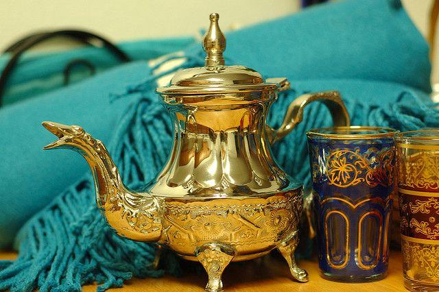 طريقة عمل الشاي المغربي الأصيل سهل التحضير How To Make Drinks Mint Tea Drinks
