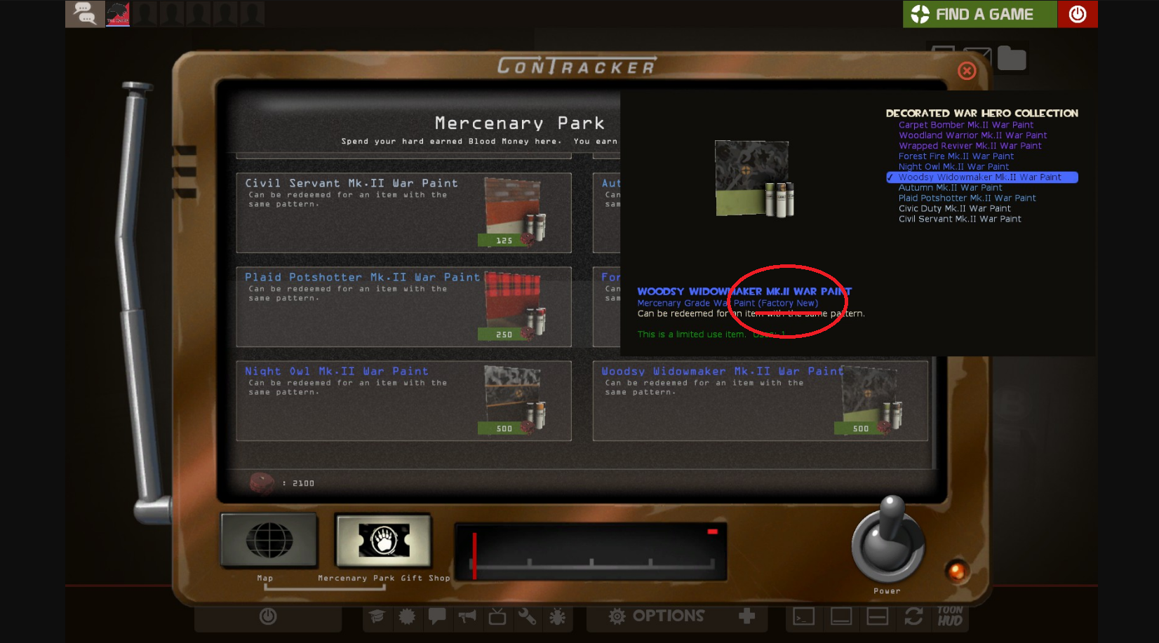 The war paints are still callled factory new is this straight up the war paints are still callled factory new is this straight up false information can i refund my non factory new war paint ccuart Choice Image