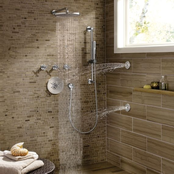 Jado Shower System featuring the Stoic Complete Personal Hand Shower ...