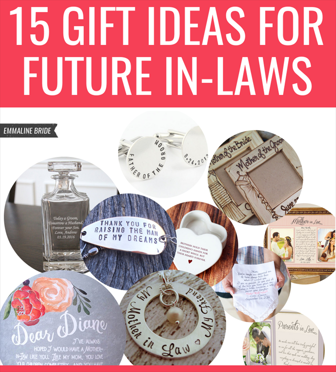 15 Gift Ideas For Future In-Laws -- Wedding Etiquette