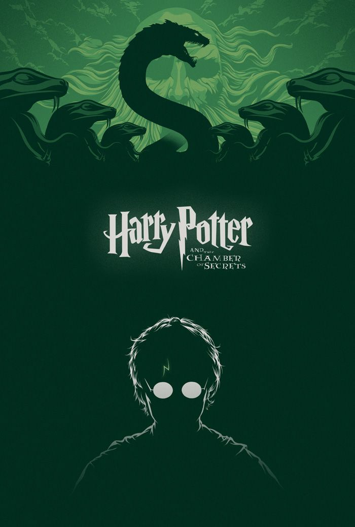 Harry Potter And The Chamber Of Secrets By Cameron K Lewis Harry Potter Poster Harry Potter Wallpaper Harry Potter