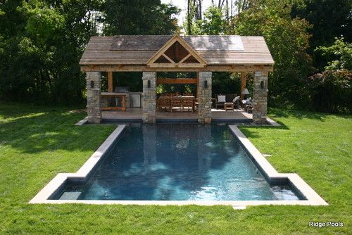 Ridge pools idea book contemporary pool other metros for Pool design book