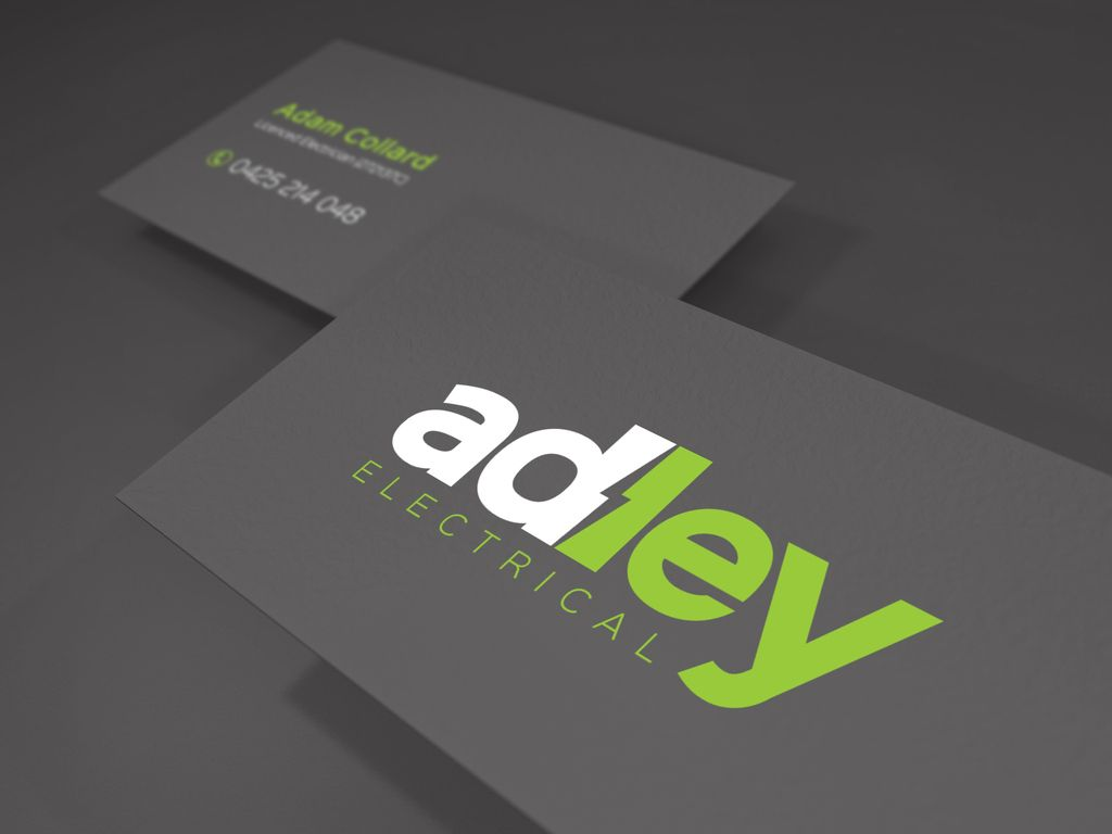 Adley Electrical Logo And Business Cards Designify Pinterest