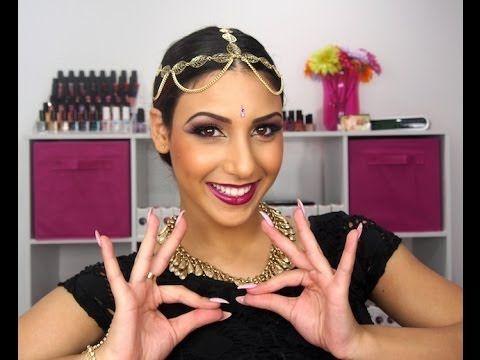 bollywood makeup tutorial fanciful eyes pinterest