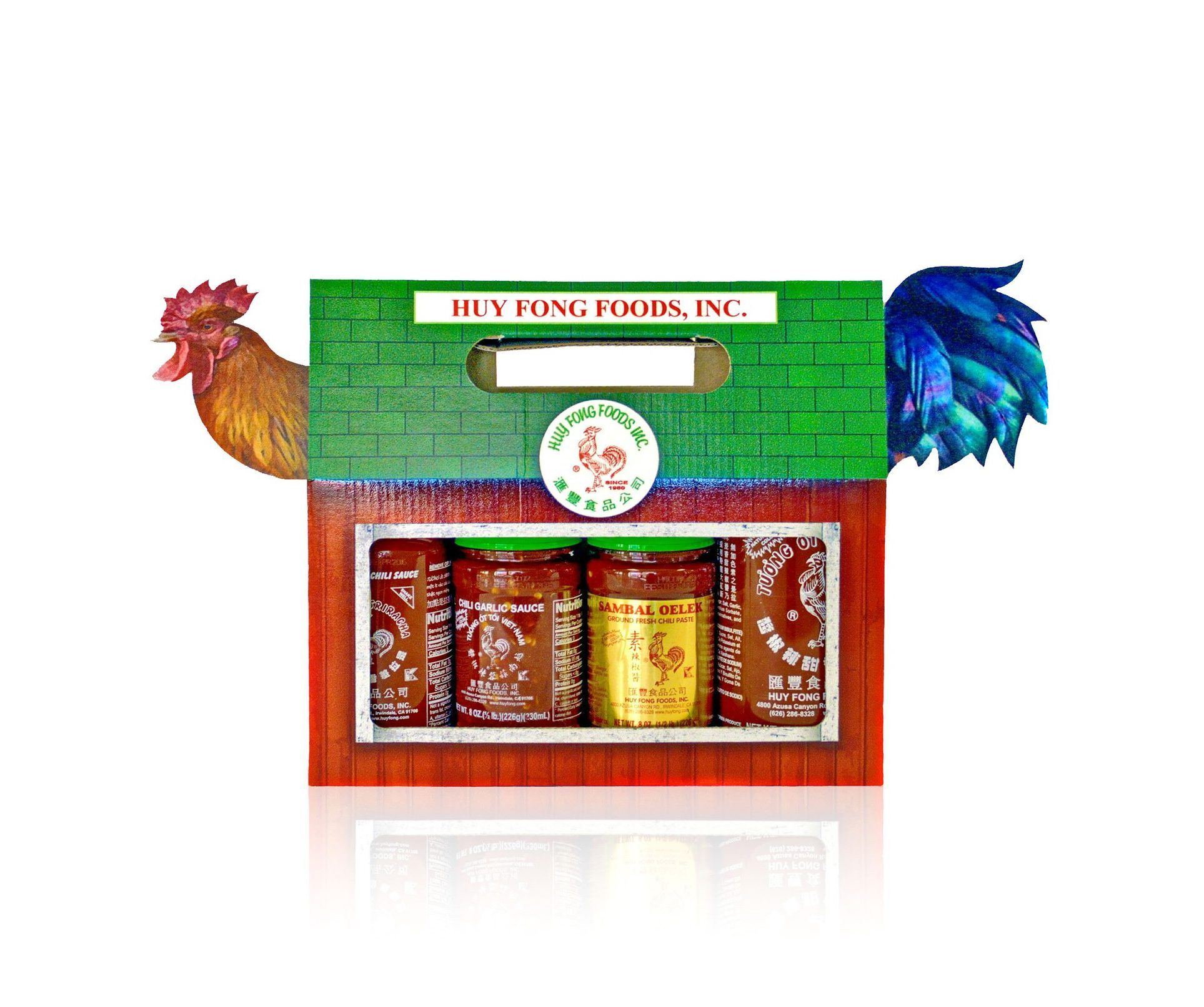 Hot sauce sample box sample box hot sauce rooster