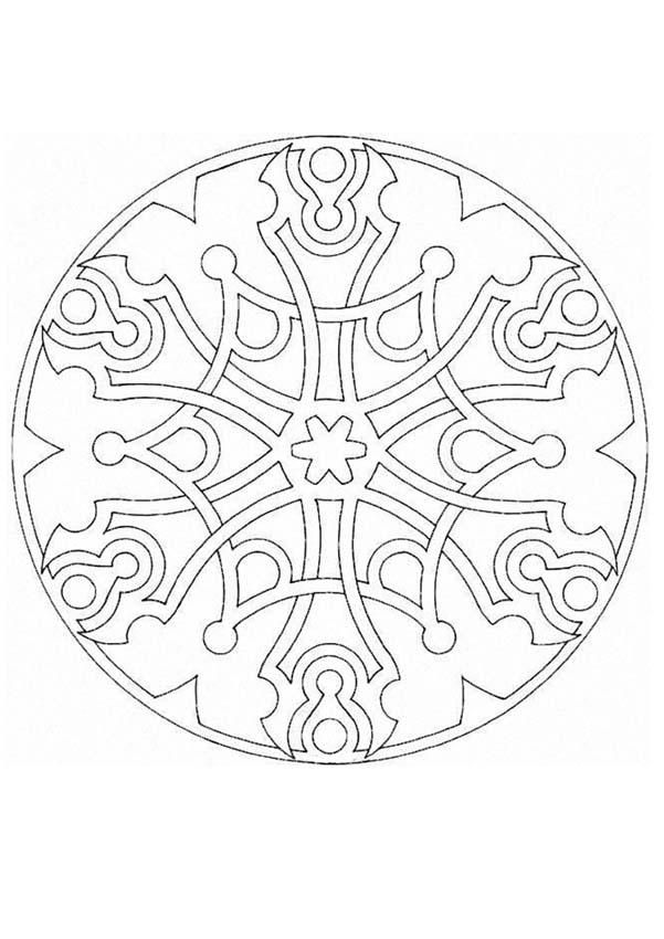 Mandalas For Advanced Mandala 168 Mandala Coloring Pages Mandala Coloring Books Coloring Pages