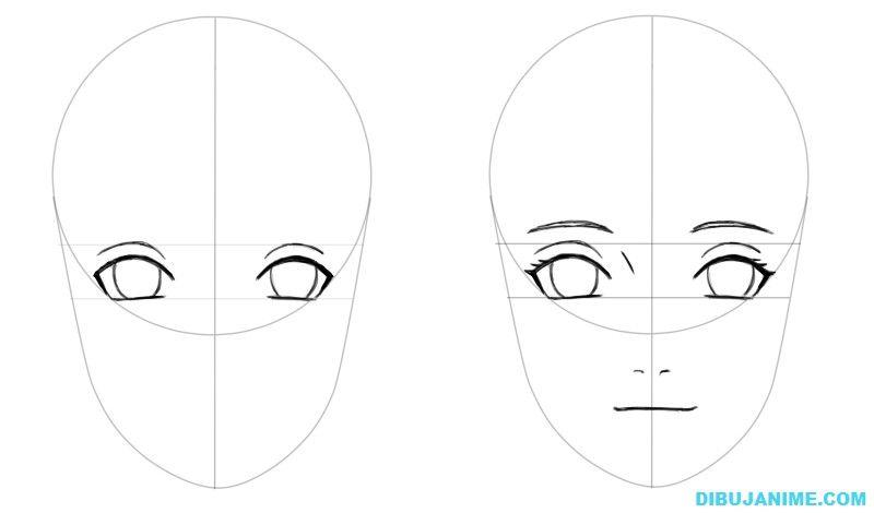 Cómo Aprender A Dibujar Dibujos Animados Paso A Paso: Como Dibujar A Hinata Hyuga (Shippuden) Paso A Paso
