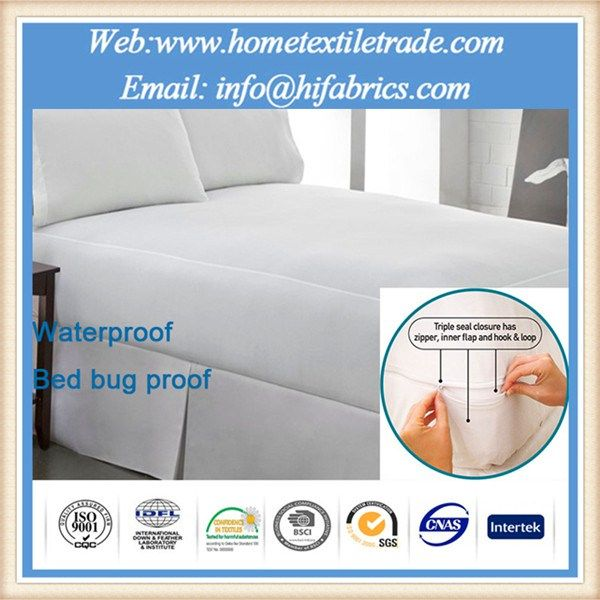 Organic Bamboo Fitted Cover Protector For 16 Deep Mattress Waterproof 100 Made In China Twin Size Saint Glory Mattress Waterproof Mattress Mattress Protector