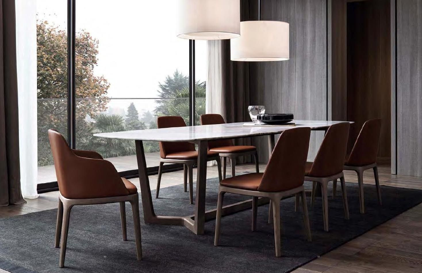 Poliform Home Collection 2015 Marble Top Dining Table Furniture