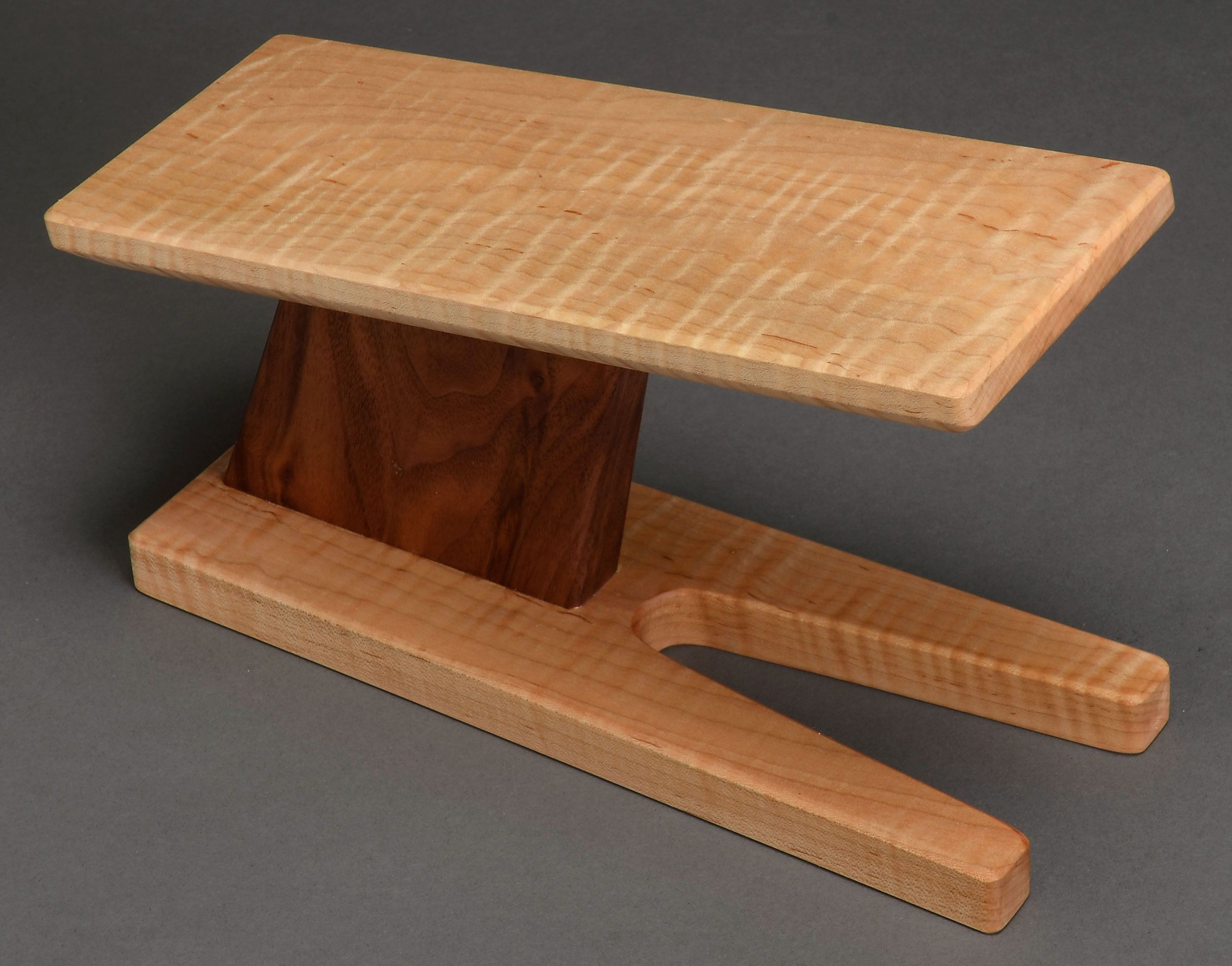 Pin By Take A Stand Inc On Classical Guitar Footstool Wooden Guitar Stand Guitar Stand Wooden