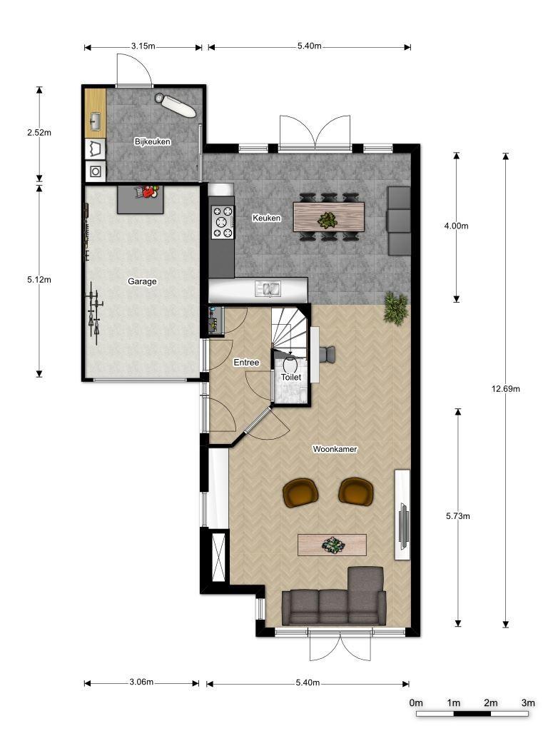 Plattegrond nieuwe indeling plevier 80 a new home for Plattegrond woning indeling