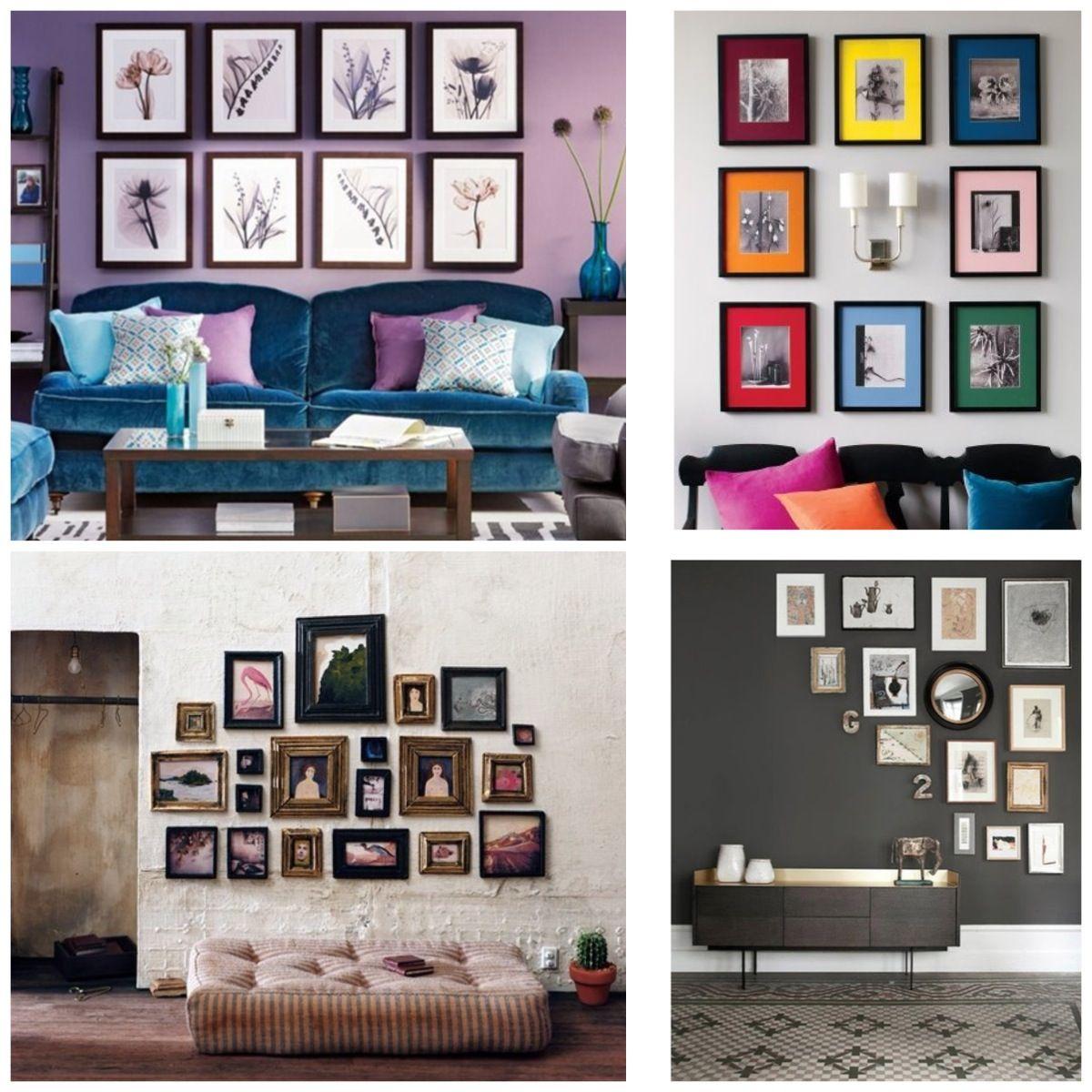 Decorar con cuadros decorar con cuadros pinterest - Como hacer un cuadro con fotos familiares ...