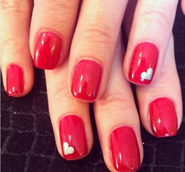 18 ridiculously sweet valentines day nail art designs - Nail Art Valentines Day