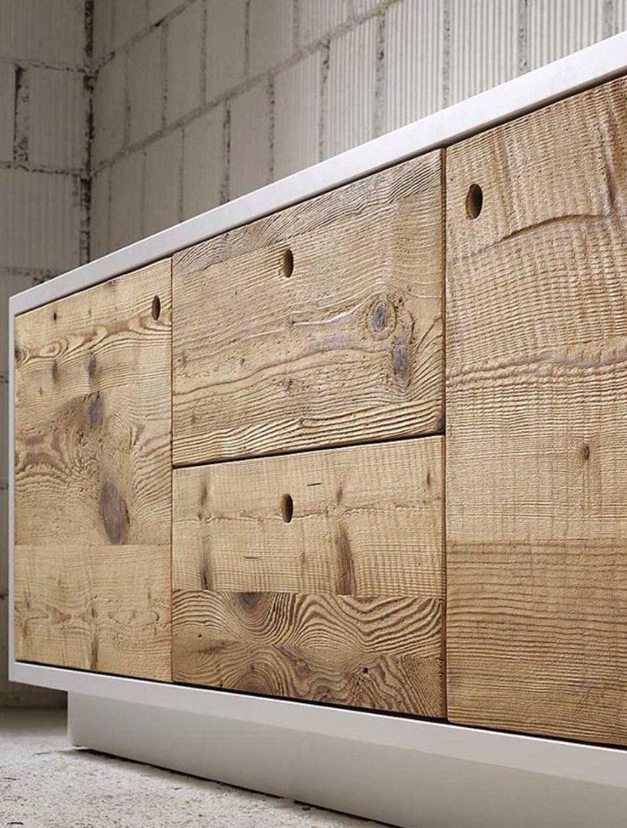 Wood sideboard drawers kitchen