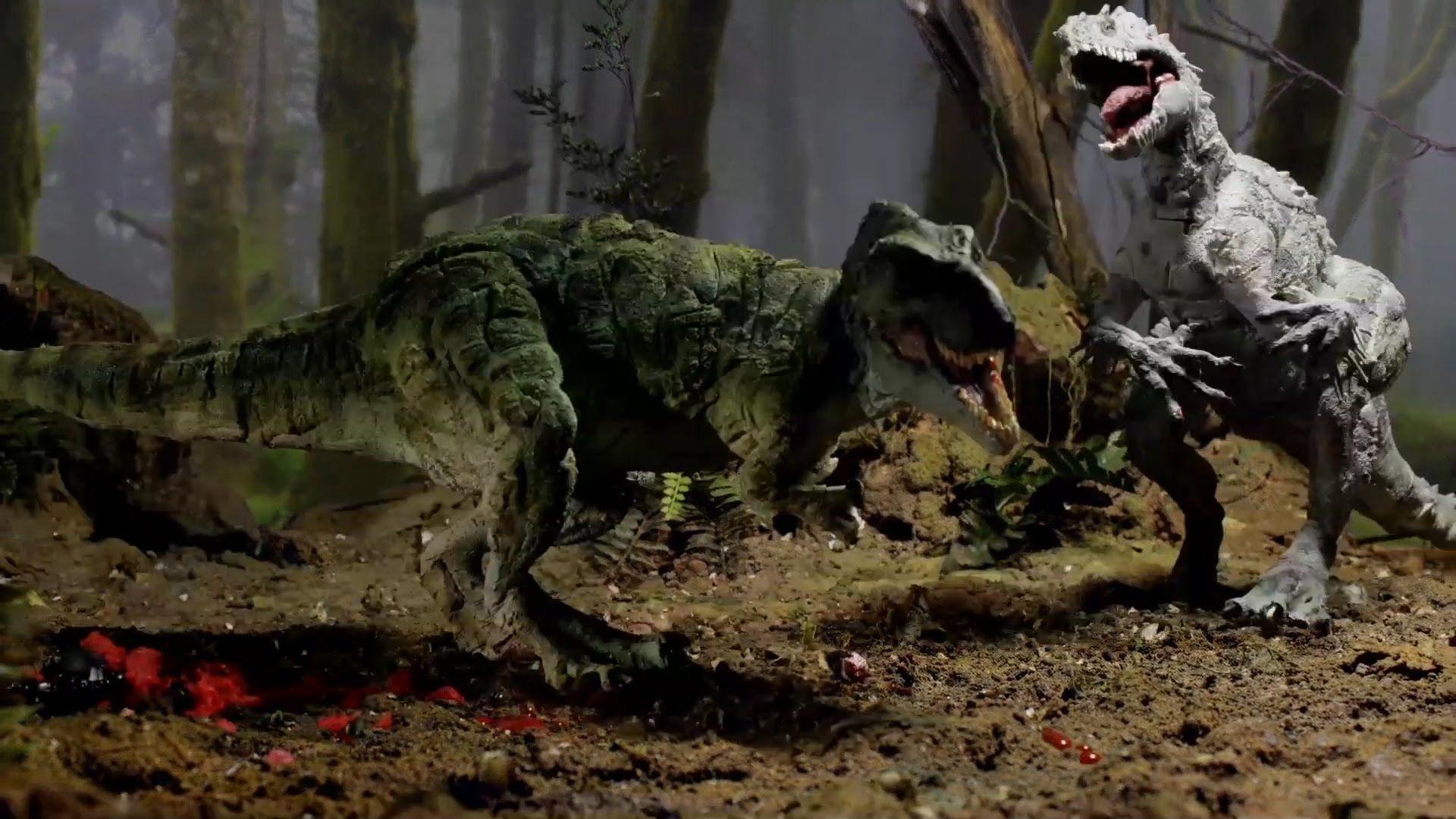 TRex vs Indominus Rex Jurassic Park Indominus rex