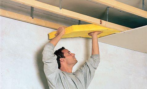 Schallschutz So Halt Die Decke Larm Fern Renovierung