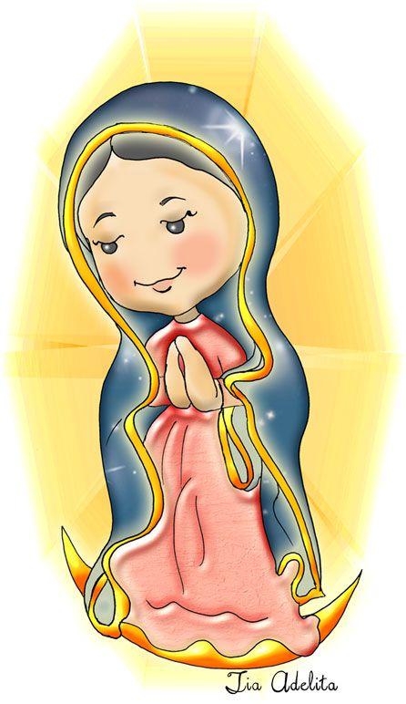 Nsa Sra Guadalupe Tia Adelita Jpg 446 772 Nossa Senhora De