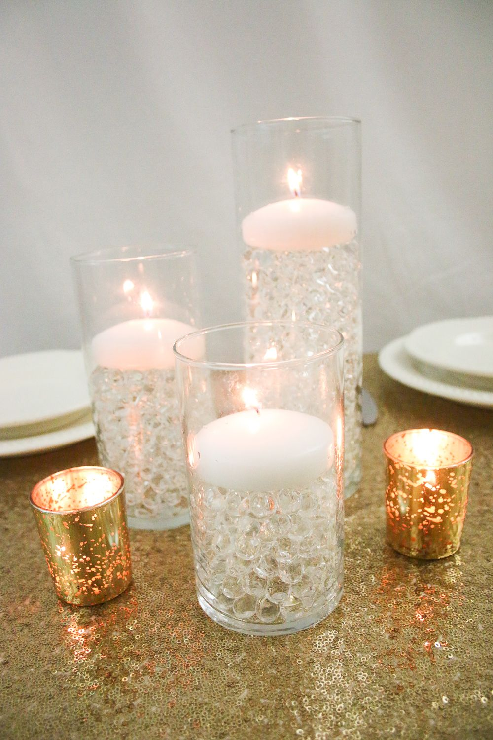 Budget Savvy Centerpieces using Water Beads from Gemnique | Water ...