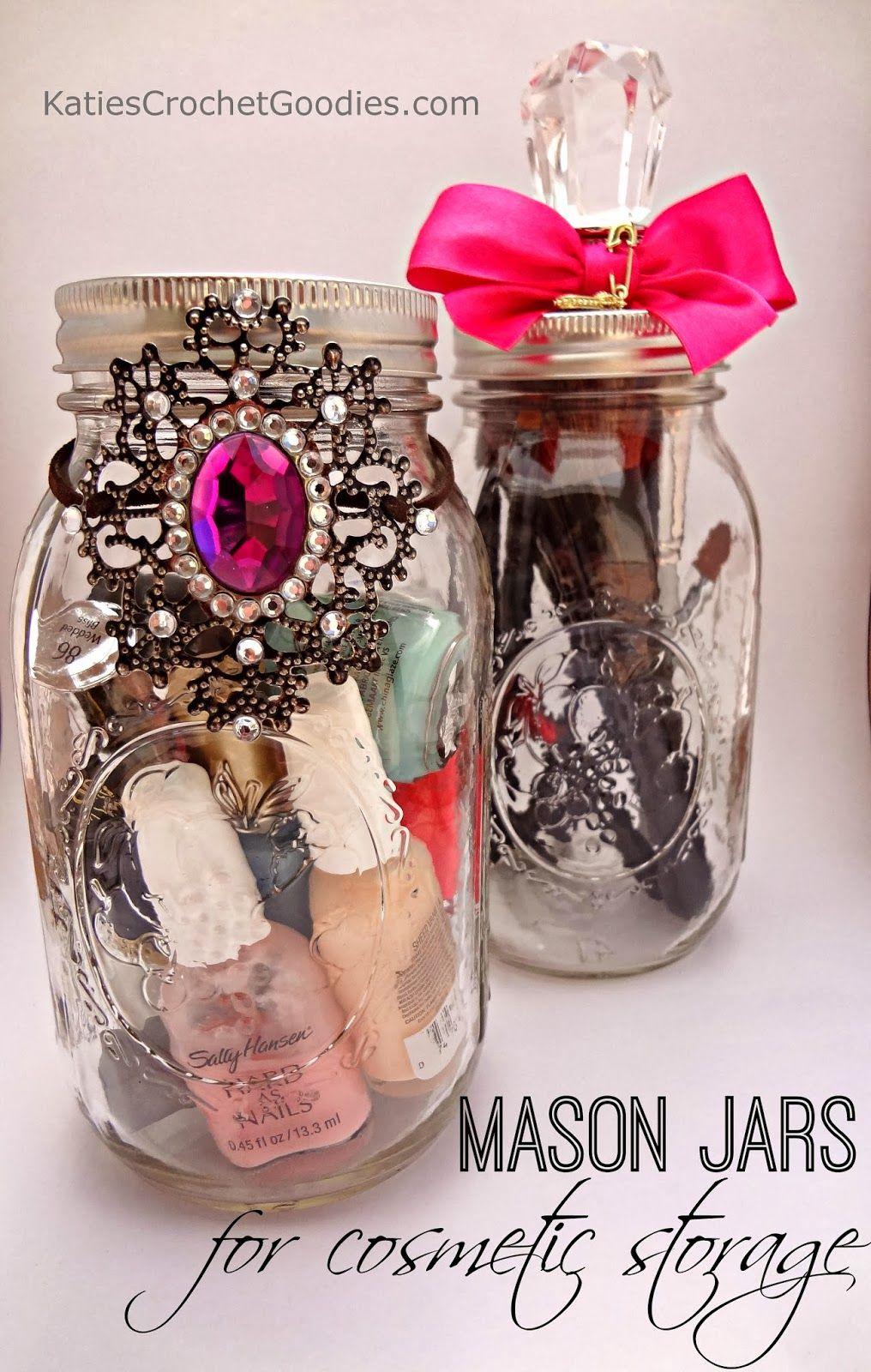 Katieu0027s Crochet Goodies and Crafts Mason Jar