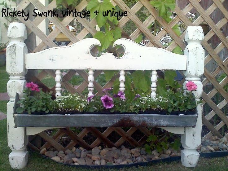 Rustic Garden Decor | Chicken Feeder Flower Box! | Rustic Garden Decor