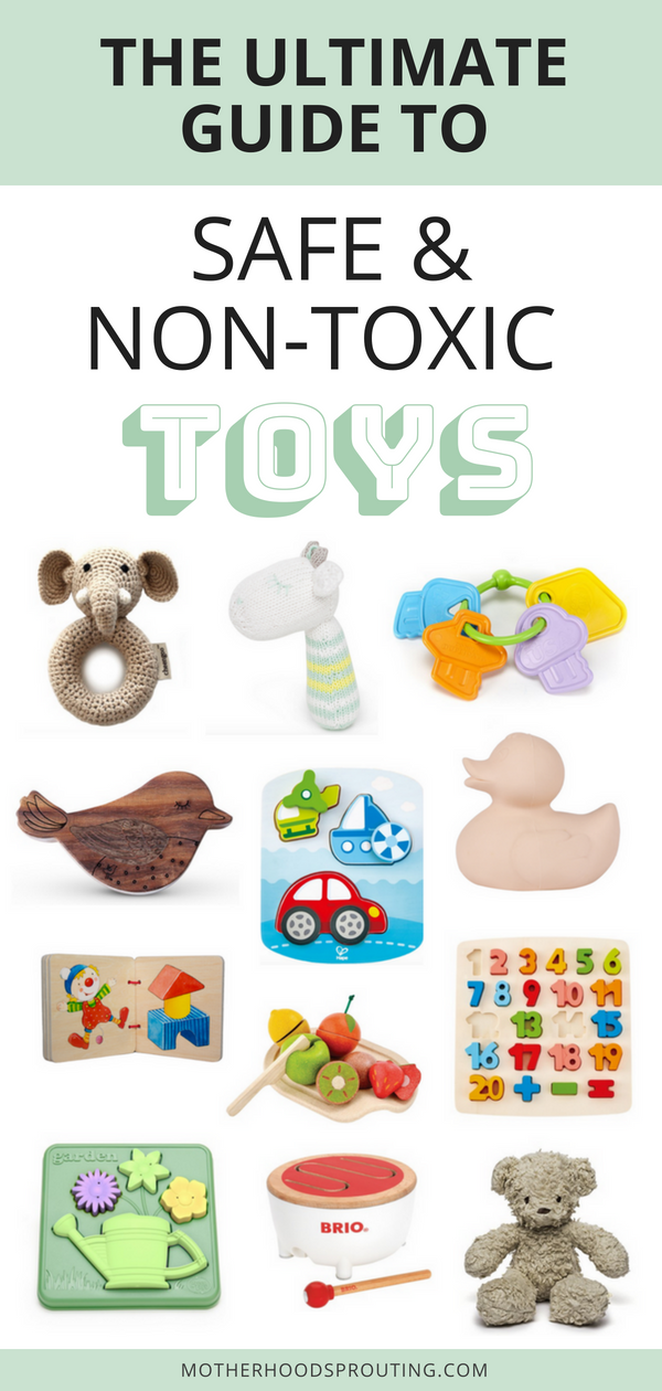 773c354bbc713 Learn the best non-toxic toys for babies and toddlers. From non-toxic  teething toys to non-toxic bath toys this post has it all!