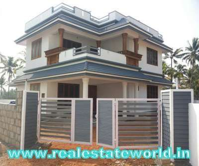 Kerala Real Estate Aluva Real Estate 11 Cent 2000 Sq Ft 4 Bhk House For Sale In Aluva Kadungalloor At E Model House Plan House Front Design Independent House