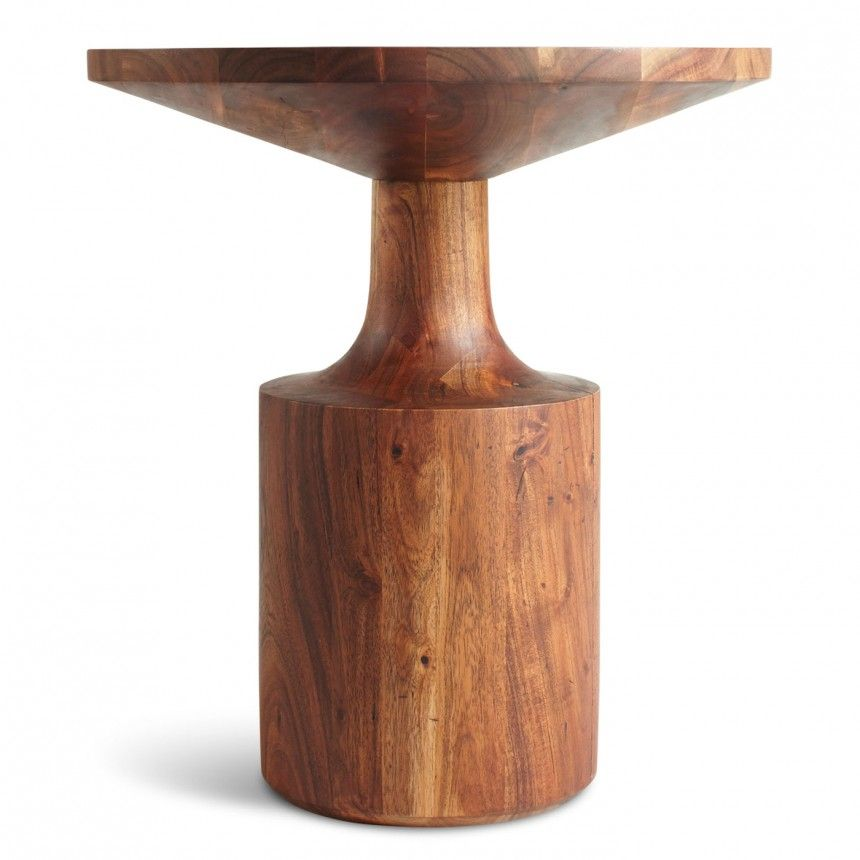 Turn Tall Side Table - Round Wood Side Table | Blu Dot  sc 1 st  Pinterest & Turn Tall Side Table - Round Wood Side Table | Blu Dot | // 1209 ...