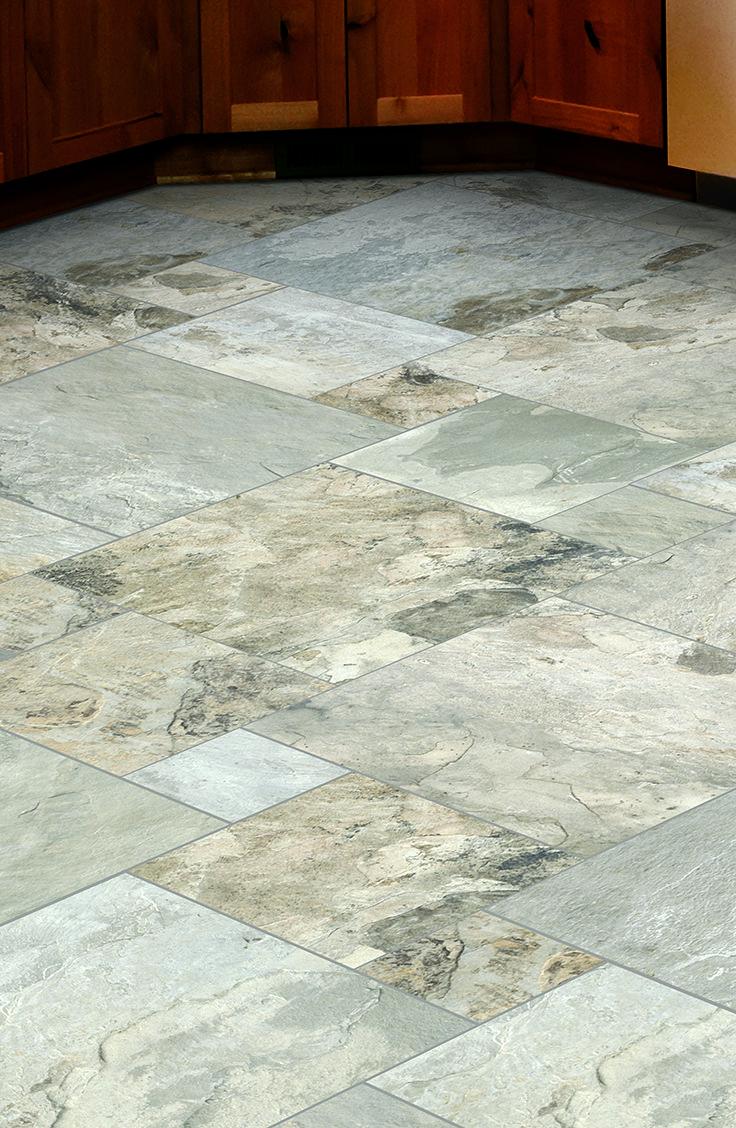 Mohawk Floorings Volturno Tile In Carlsbad Beige Kitchen Floors