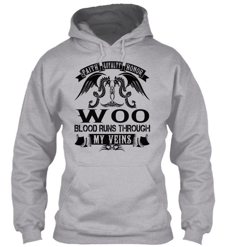 WOO - My Veins Name Shirts #Woo