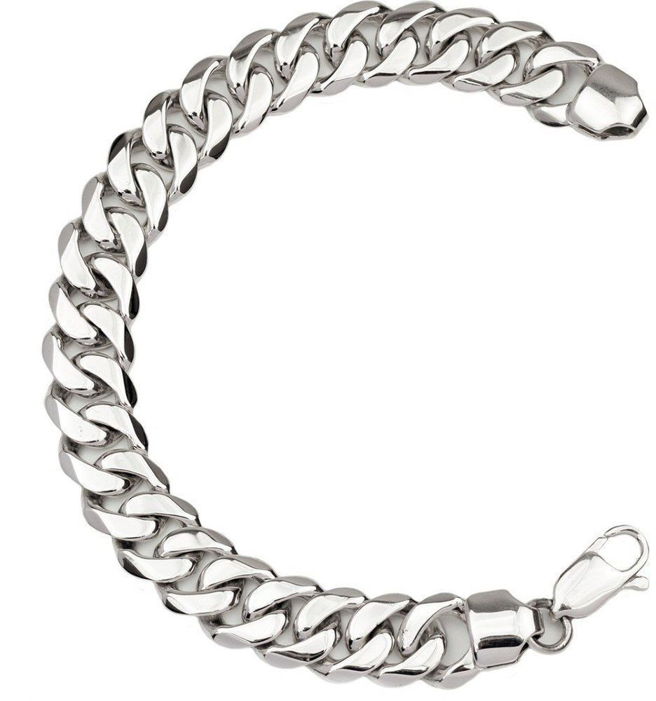 86114febd1675 30g HEAVY CUBAN DOUBLE CURB CHAIN LINK 925 STERLING SILVER MENS ...