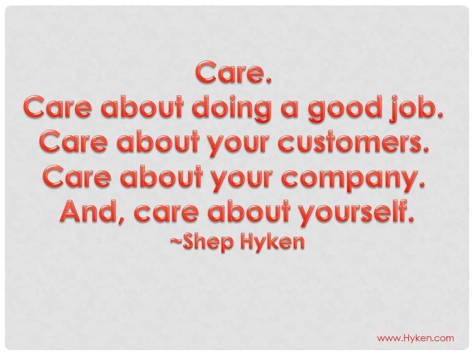 Customer Service Quotes Interesting Care About The Customer Customer Service  Pinterest  Customer . 2017