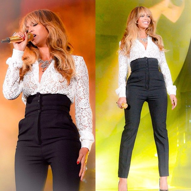 Beyonce At Global Citizen Festival 27.09.2014