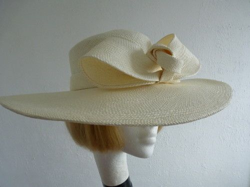 Vero Bermudez Hats Mother of the Bride Hat Ivory in Ivory  1dca5cc0a69