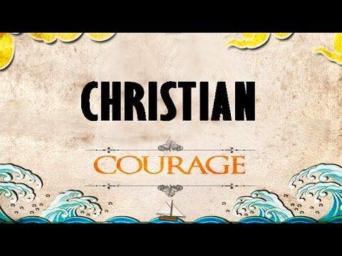 """CHRISTIAN COURAGE"" — Watching the Summer Olympic games in Rio you can see stories of courageous athletes overcoming great difficulties and achieving amazing feats. But the courage of a Christian goes beyond training and persistence — Christian Courage is based on trust in the strength of Almighty God. Today we look at several Bible promises and hear an amazing story of courage."