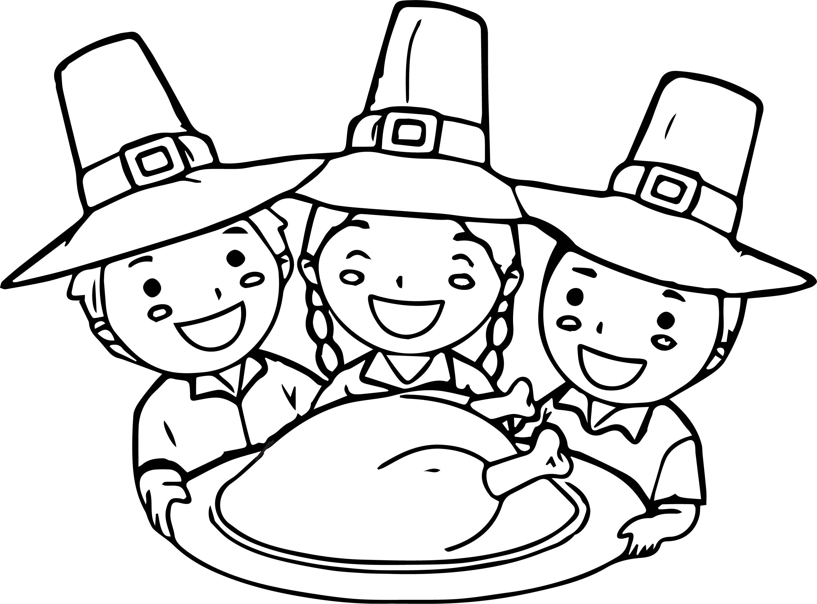 Nice Thanksgiving For Kids Activities Village Coloring