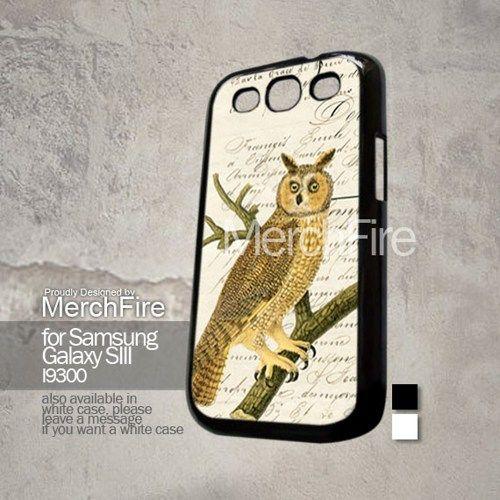 Owl pepper vintage(2) Samsung Galaxy S3 case | merchfire - Accessories on ArtFire