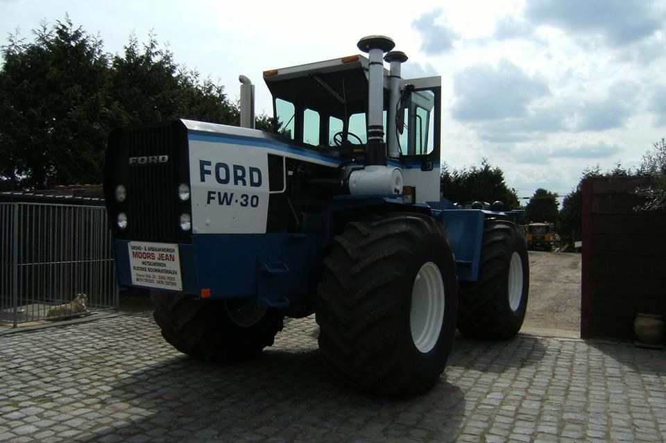 ford fw 30 tractors ford tractors ford pinterest