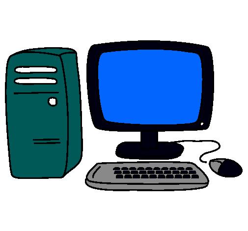 Dibujo De Ordenador 3 Pintado En Dibujos Net Dibujo Ordenador Ordenador Informatica